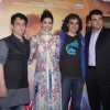 Deepika Padukone, Imtiaz Ali, Sajid Nadiadwala and Siddharth Roy Kapur at Music Launch of Tamasha
