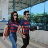 Love Birds Karishma Tanna and Upen Patel Snapped at Airport