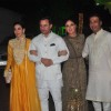 Karisma Kapoor, Saif Ali Khan and Kareena Kapoor at Shilpa Shetty's Diwali Bash