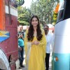 Sonam Kapoor at Diwali Celebration of PRDP Team with 'Dharavi Rocks' Band