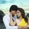 Shahrukh Khan and Kajol as seen in the song Gerua