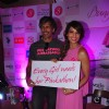 Milind soman and Bipasha Basu at Pinkathon Press Meet