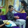 Rimi Sen, Prince Narula and Rochelle Rao at Bigg Boss 9- Double Trouble