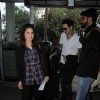 Sunny Leone Snapped With her Husband at Airport