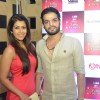 Karan Patel with wife Ankita Bhargava at the 14th Indian Telly Awards Nomination Ceremony