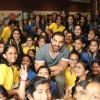 John Abraham Wiith students of Billabong High International School