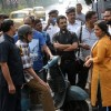 "Big B, Nawazuddin and Vidya Balan shooting for ""Te3n"""