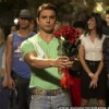 Sohail Khan with red roses