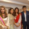 Mother - Daughter Dimple and Twinlke at Inaugration of 'Ranka' Jewellers in Pune