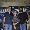 Vidhu Vinod Chopra, Aditi Rao Hydari and Farhan Akhtar at Promotions of 'Wazir'