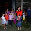 Manyatta Dutt spotted outside PVR Juhu with Kids