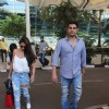 Malaika Arora and Arbaaz Khan Snapped at Airport