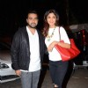Shilpa Shetty with husband Raj Kundra at Special Screening of Bajirao Mastani