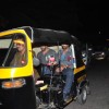 Nikhil Dwivedi and Salman Khan Snapped: Takes a Rickshaw ride to home post Dinner