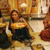 A still of Sadhna, Ragini and Avni