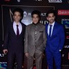 Tusshar  Kapoor and Jeetendra at Guild Awards 2015