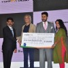 Sudhir Mishra and Abhishek Bachchan at Launch of 'Yupp TV Bazaar'