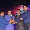 Rajpal Yadav and Manoj Joshi at Mumbai Global Achiever's Award