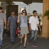 Kangana Snapped Post Family Brunch at JW Marriott