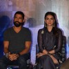 Farhan Akhtar and Aditi Rao Hydari at Press Meet of 'Wazir'