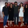 Abhishek Kapoor, Tabu, Katrina and Aditya Roy Kapur at Trailer Launch of 'Fitoor'