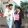 Genelia Deshmukh and Riteish Deshmukh with Son Riaan Snapped at Airport