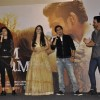 Palak Muchhal, Mawra Hocane, Ankit Tiwari and Harshvardhan Rane at Music Launch of Sanam Teri Kasam