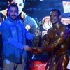 Salman Khan Presents Award to the Winner at Fitness Expo