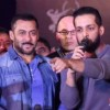 Salil Acharya and Salman Khan at Fitness Expo
