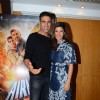 Akshay Kumar and Nimrat Kaur at Promotions of 'Airlift'