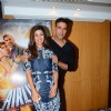 Nimrat Kaur and Akshay Kumar at Promotions of 'Airlift'