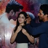 Harshvardhan Rane and Mawra Hocane at Promotions of Sanam Teri Kasam