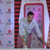 Zaheer Khan at Press Meet of Moneygram International Cricket Council