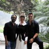Akshay and Nimrat at Press Meet of Airlift at Le-Meridain, Delhi
