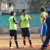 Arjun Kapoor Snapped Practicing Soccer