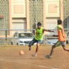 Dino Morea Snapped Practicing Soccer
