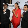 Deepika Dazzles in Red at Launch of Tissot Store in Delhi