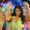 Sameera Reddy dancing on the dance floor