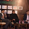 Abhishek Bachchan at Press Meet of Pro Kabaddi in Delhi