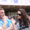 Sohail Khan and Preity Zinta at CCL Match in Banglore