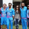 Celebs Snapped at CCL Match in Banglore