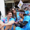 Sohail Khan, Riteish Deshmukh and Zarine Khan Supports 'Mumbai Heroes' at CCL Match in Banglore