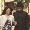 Amitabh Bachchan and Jacqueline Fernandez looking very happy