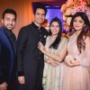 Raj Kundra and Shilpa Shetty at Asin Thottumkal and Rahul Sharma's Wedding Reception