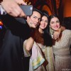 Divya Khosla Kumar Poses for a Selfie with Asin and Rahul Sharma at their Wedding Reception