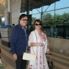 Sanjay Khan Snapped at Airport