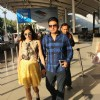 Divya Khosla and Bhushan Kumar Snapped at Airport