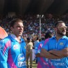 Sohail Khan and  Salman Khan Snapped at CCL Match