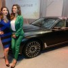 Soha Ali Khan and Esha Gupta at Delhi Art Fair