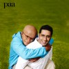 Abhishek and Amitabh as father and son